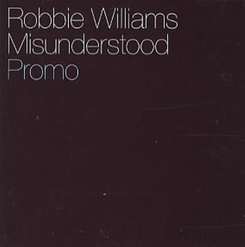 "Robbie Williams Misunderstood CD single (CD5 / 5"") Mexican RWIC5MI315388"