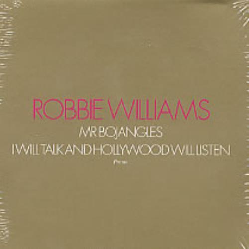 "Robbie Williams Mr Bojangles CD single (CD5 / 5"") UK RWIC5MR223743"