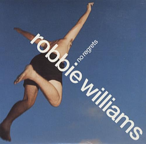 "Robbie Williams No Regrets - enhanced C5 (UK) CD single (CD5 / 5"") UK RWIC5NO150445"