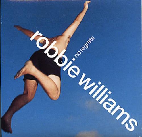 Robbie Williams No Regrets 2-CD single set (Double CD single) UK RWI2SNO126969