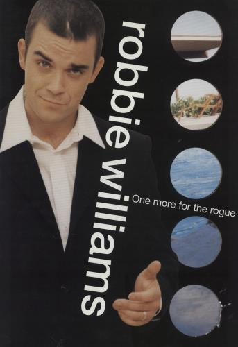 Robbie Williams One More For The Rogue tour programme UK RWITRON218897