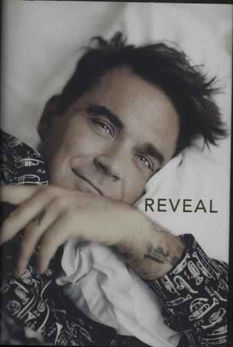 Robbie Williams Reveal: Robbie Williams book UK RWIBKRE686981
