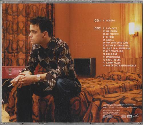 Robbie Williams Rock DJ Special Sampler 2 CD album set (Double CD) Japanese RWI2CRO171348