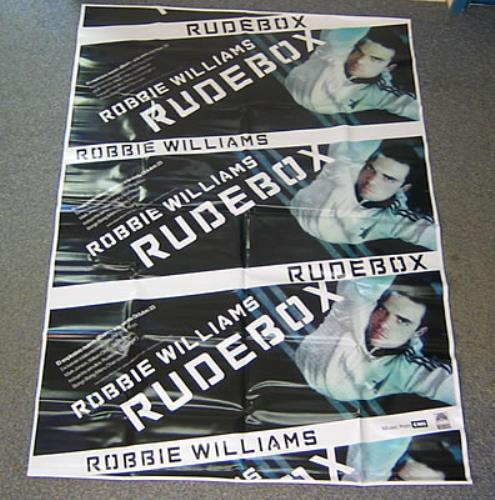 Robbie Williams Rudebox display Mexican RWIDIRU382709
