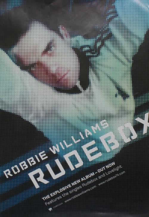 cd robbie williams rudebox
