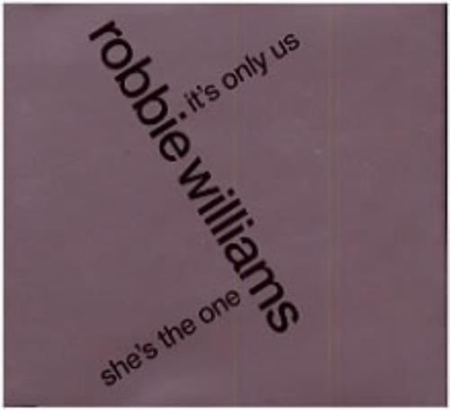 "Robbie Williams She's The One CD single (CD5 / 5"") UK RWIC5SH145986"