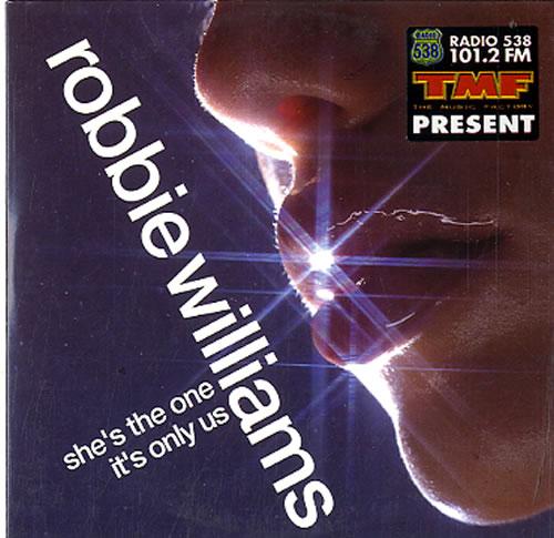 "Robbie Williams She's The One CD single (CD5 / 5"") Dutch RWIC5SH626369"