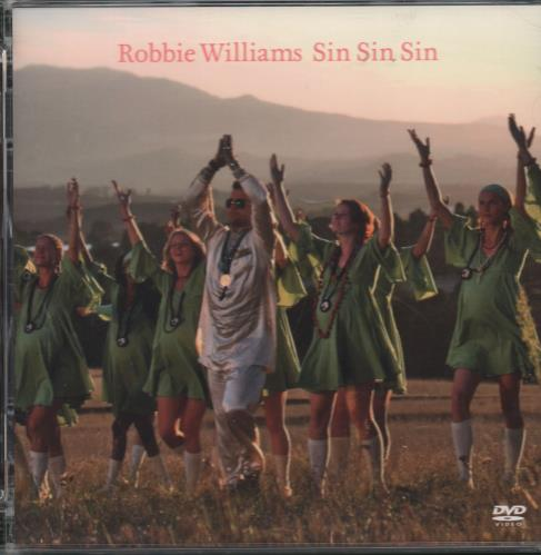 Robbie Williams Sin Sin Sin DVD Single UK RWIDSSI662412