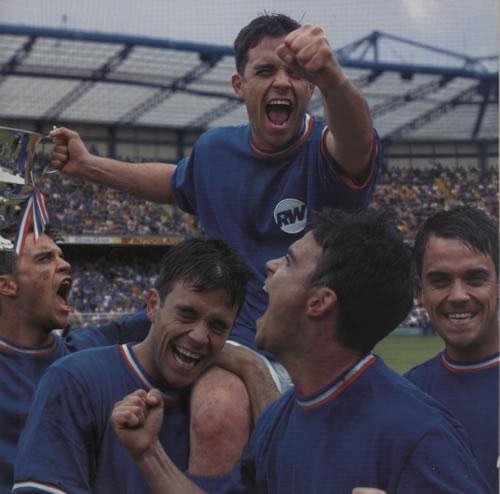 Robbie Williams Sing When Your Winning + Ticket stub tour programme UK RWITRSI594786