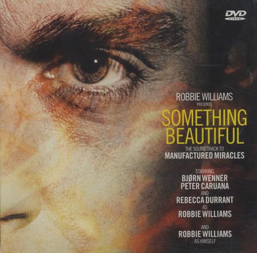 Robbie Williams Something Beautiful DVD Single UK RWIDSSO434253