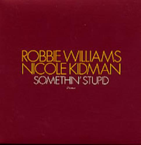 "Robbie Williams Something Stupid CD single (CD5 / 5"") UK RWIC5SO202272"