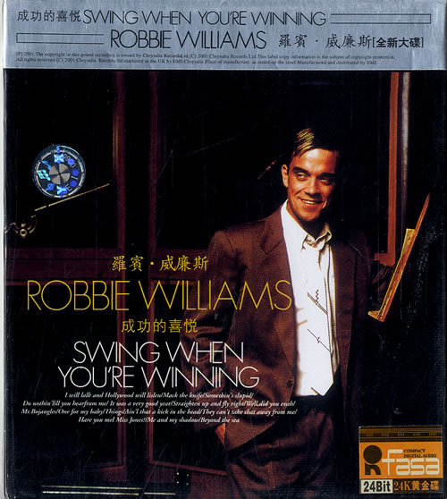 Robbie Williams Swing When Youre Winning