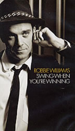 Robbie Williams Swing When Youre Winning UK Promo Video VHS Or