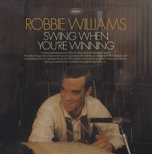 Robbie Williams Swing When You're Winning CD album (CDLP) Canadian RWICDSW338042