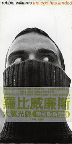 "Robbie Williams The Ego Has Landed 3"" CD single (CD3) Taiwanese RWIC3TH285993"