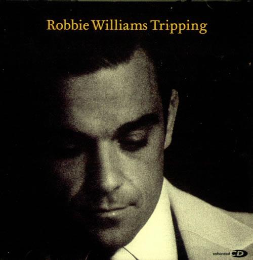 Robbie Williams Tripping 2-CD single set (Double CD single) UK RWI2STR337298