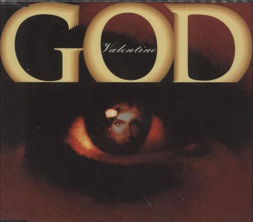 "Robby Valentine God 3"" CD single (CD3) Japanese RBVC3GO740752"