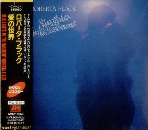 Roberta Flack Blue Lights In The Basement CD album (CDLP) Japanese RFKCDBL542952