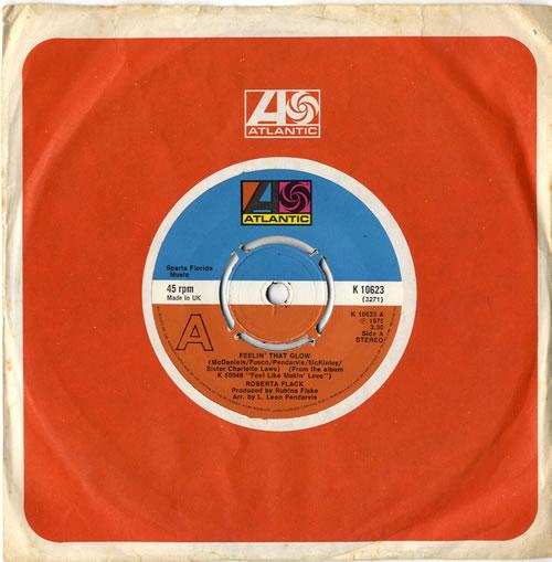 "Roberta Flack Feelin' That Slow 7"" vinyl single (7 inch record) UK RFK07FE615299"