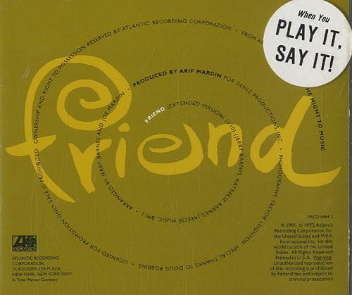 "Roberta Flack Friend CD single (CD5 / 5"") US RFKC5FR454925"