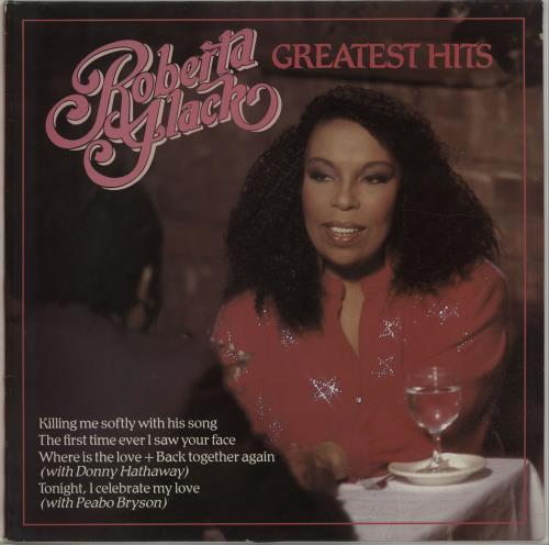 Roberta Flack Greatest Hits vinyl LP album (LP record) UK RFKLPGR676431