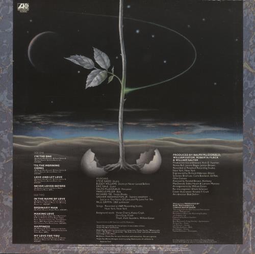 Roberta Flack I'm The One vinyl LP album (LP record) Greek RFKLPIM733388