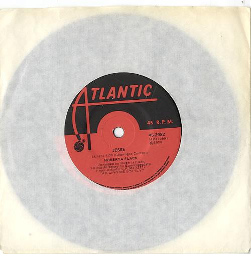 "Roberta Flack Jesse 7"" vinyl single (7 inch record) Australian RFK07JE611352"