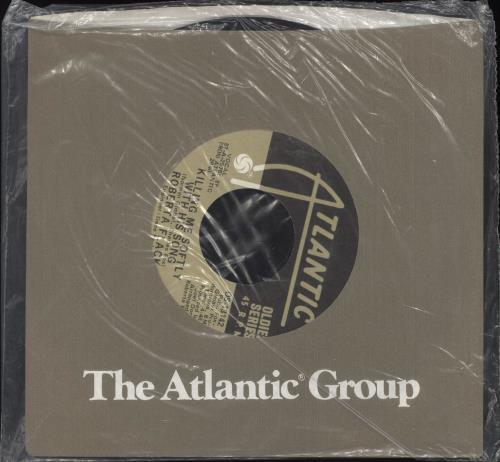 "Roberta Flack Killing Me Softly With His Song - Sealed 7"" vinyl single (7 inch record) US RFK07KI707727"