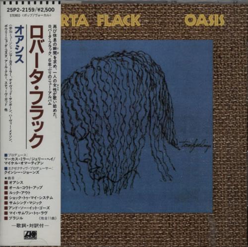 Roberta Flack Oasis CD album (CDLP) Japanese RFKCDOA611104