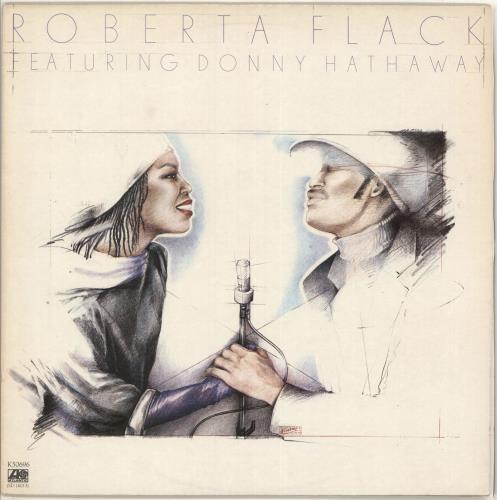 Roberta Flack Roberta Flack Featuring Donny Hathaway vinyl LP album (LP record) UK RFKLPRO298780