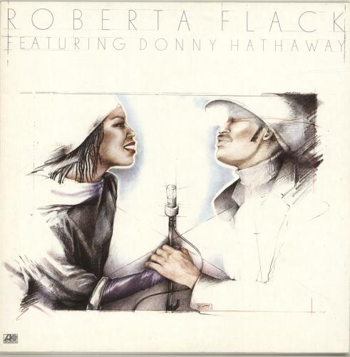 Roberta Flack Roberta Flack Featuring Donny Hathaway vinyl LP album (LP record) German RFKLPRO690333