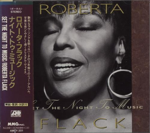 Roberta Flack Set The Night To Music CD album (CDLP) Japanese RFKCDSE663258