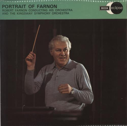 Robert Farnon Portrait Of Farnon vinyl LP album (LP record) UK RFNLPPO664593