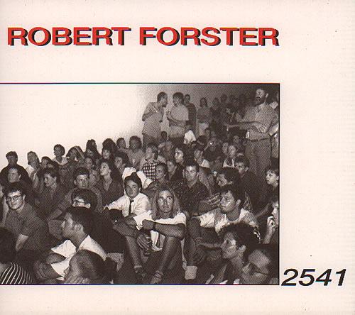 "Robert Forster 2541 CD single (CD5 / 5"") UK OBEC5239084"