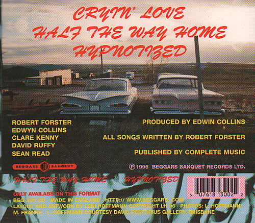 "Robert Forster Cryin' Love CD single (CD5 / 5"") UK OBEC5CR394916"