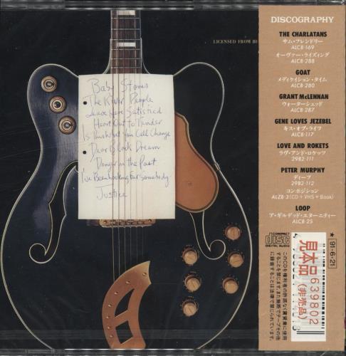 Robert Forster Danger In The Past CD album (CDLP) Japanese OBECDDA711591