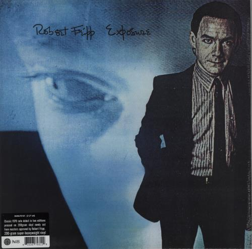 Robert Fripp Exposure - 200gm Vinyl - Sealed 2-LP vinyl record set (Double Album) UK RFR2LEX755534