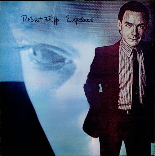 Robert Fripp Exposure vinyl LP album (LP record) UK RFRLPEX245569