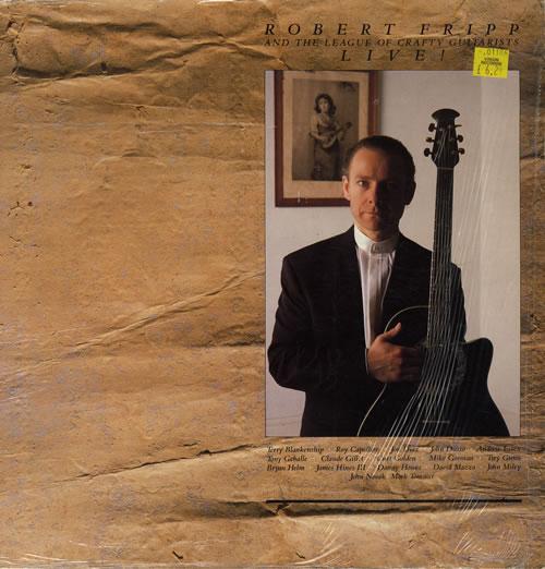 Robert Fripp Live! vinyl LP album (LP record) UK RFRLPLI552488