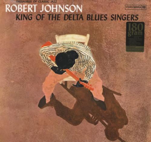 Robert Johnson (30s) King Of The Delta Blues Singers vinyl LP album (LP record) US RJ2LPKI384430