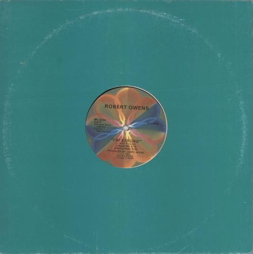 "Robert Owens I'm Strong 12"" vinyl single (12 inch record / Maxi-single) US RW612IM723506"