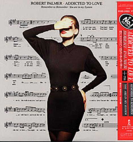 "Robert Palmer Addicted To Love 12"" vinyl single (12 inch record / Maxi-single) Japanese PLM12AD153666"