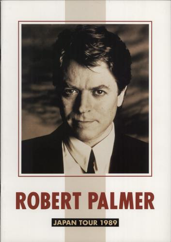 Robert Palmer Japan Tour 1989 tour programme Japanese PLMTRJA151598
