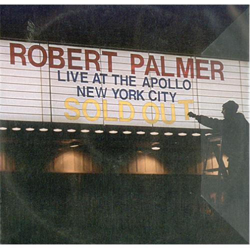 Robert Palmer Live At The Apollo CD-R acetate UK PLMCRLI185724