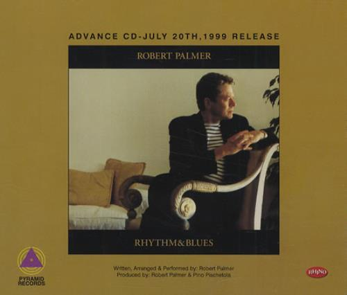 Robert Palmer Rhythm & Blues CD album (CDLP) US PLMCDRH173975