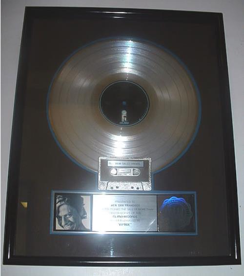 Robert Palmer Riptide award disc US PLMAWRI328149