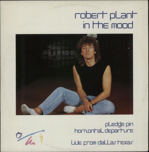 "Robert Plant In The Mood 12"" vinyl single (12 inch record / Maxi-single) UK PLA12IN37050"