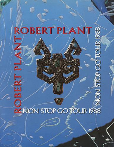Robert Plant Non Stop Go Tour 1988 tour programme UK PLATRNO29603