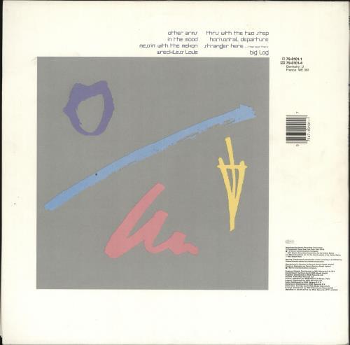 Robert Plant The Principle Of Moments vinyl LP album (LP record) German PLALPTH392439
