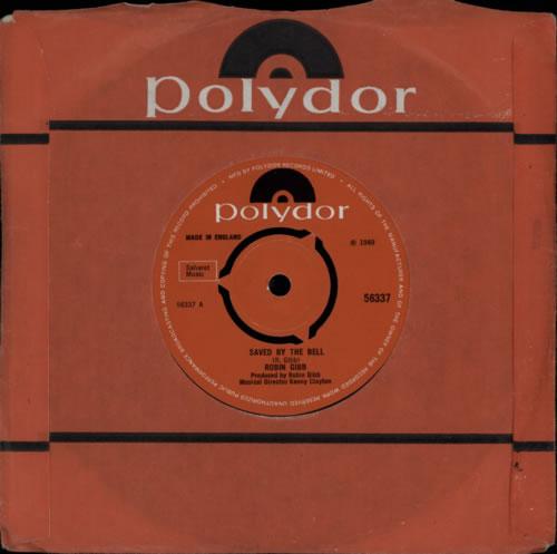 "Robin Gibb Saved By The Bell - 3pr 7"" vinyl single (7 inch record) UK RGI07SA563037"